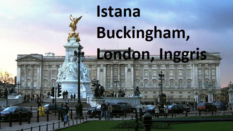 Istana Buckingham, London, Inggris